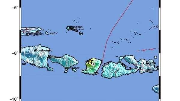 BNPB: Gempa 6,2 SR di NTB Susulan dari Gempa 7 SR