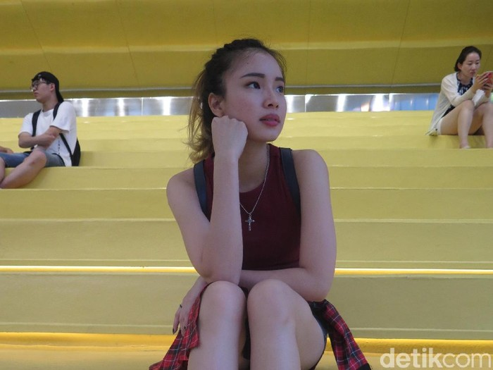 Gracia Tjahja Winata dari Indonesia ikut variety show Korea. Foto: Rahmi Anjani/Wolipop