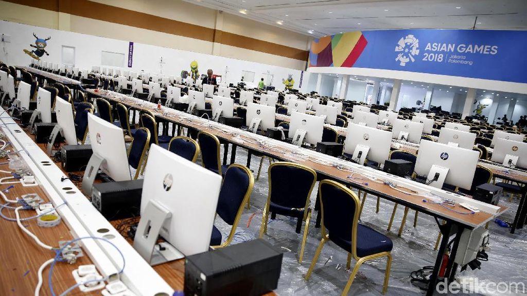 Mengintip Persiapan Media Center Asian Games 2018