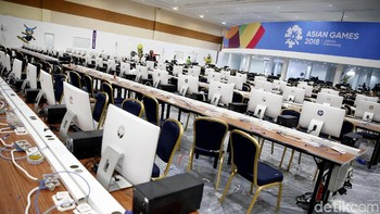Mengintip Persiapan Media Center Asian Games 2018