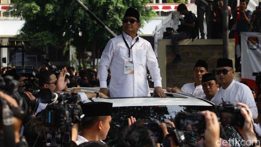 Tak Ada di Daftar Kekayaan, Prabowo Naik Lexus LX 570 Punya Siapa?