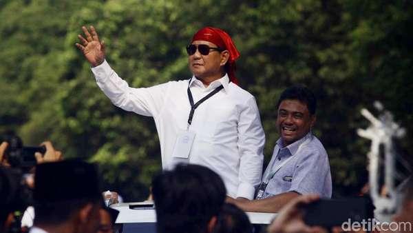 Tagar 2019 Prabowo Presiden Dideklarasikan di Lampung Besok