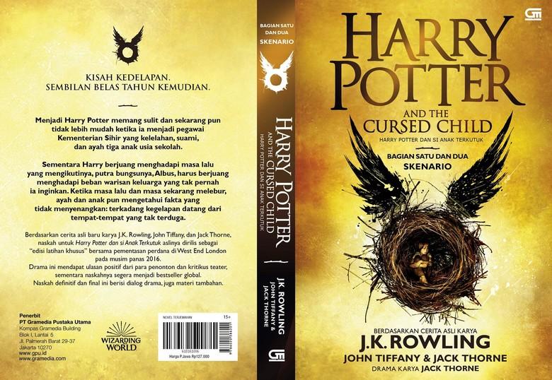 Buku Harry Potter dan Si Anak Terkutuk Terbit di Indonesia 17 September