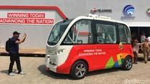Telkomsel Bawa Bus Hantu ke Asian Games 2018