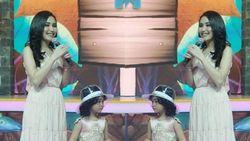 Gaya Putri Ayu Ting Ting Pakai Topi Transparan Chanel Rp 17 Juta