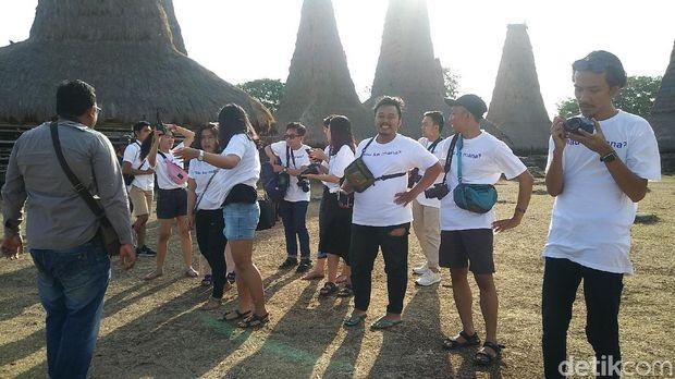 Hari Pertama 12 Agus di Sumba, ke Kampung Ratenggaro & Pantai Pero
