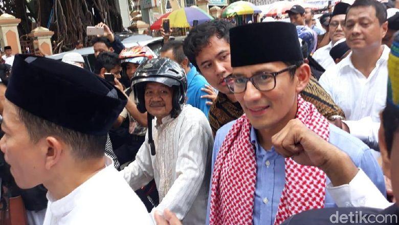 Sandi Sudah Kirim Surat Pengunduran Diri ke Jokowi Lewat Anies
