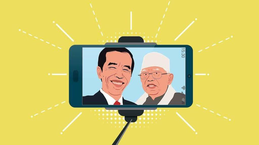 Jokowi - Maruf, Mesra Pasca Aksi 212