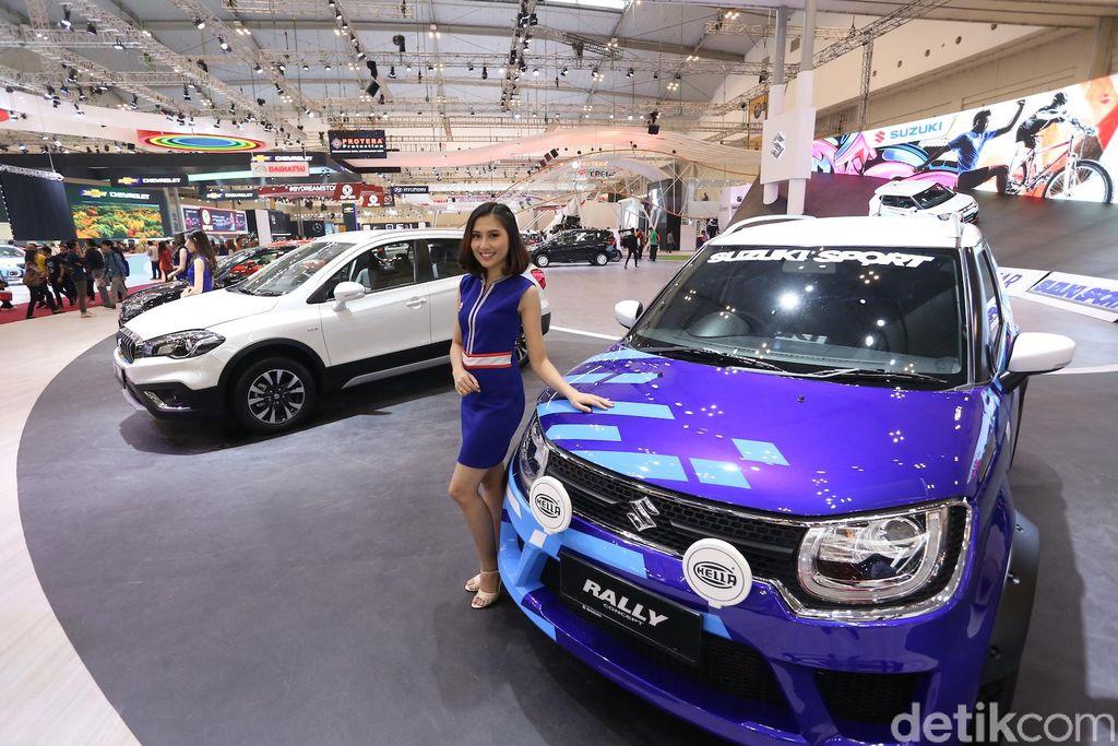 Model-model Suzuki Sport di GIIAS 2018, Ertiga, Baleno dan IGnis
