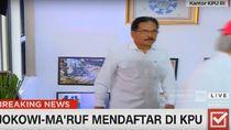 Menteri Kabinet Kerja Dampingi Jokowi Daftar ke KPU
