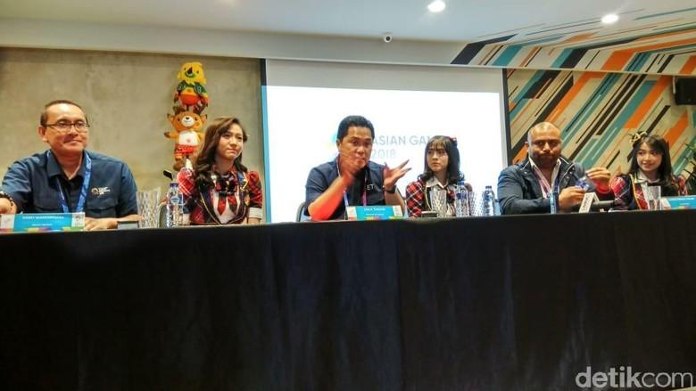 Promosikan Asian Games ke Kaum Milenial, INASGOC Gaet JKT48