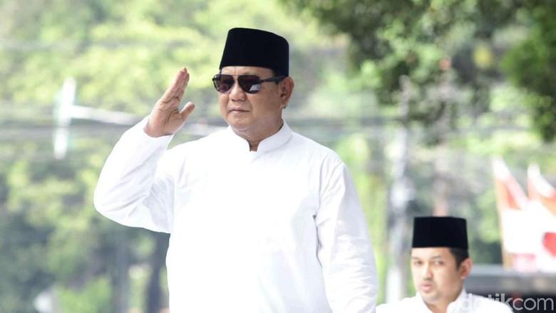 Ini Pidato Lengkap Prabowo Subianto di KPU