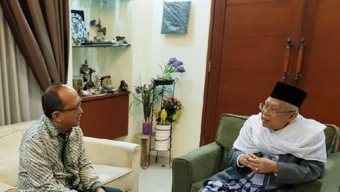 Ketua Umum Kadin Rosan Roeslani saat bertemu KH Maruf Amin/Foto: Dok. Kadin Indonesia