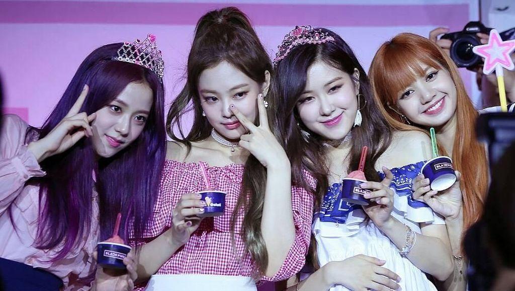 10 Momen Si Cantik Lisa Black Pink yang Doyan Makan Donat hingga Ngopi
