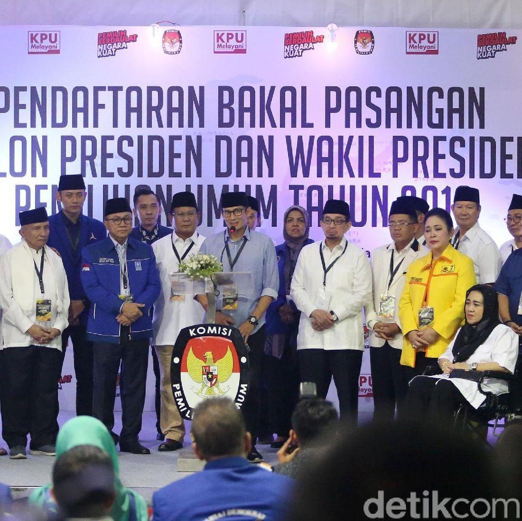 BPN Prabowo Konsolidasi Kampanye Terbuka di Kertanegara Malam Ini