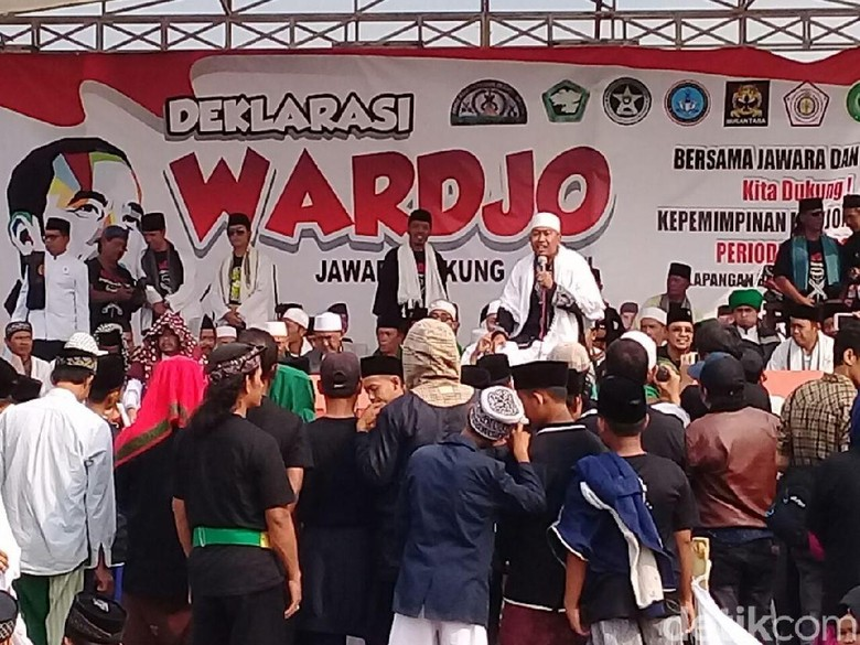 Jawara dan Ulama Banten Deklarasi Dukung Jokowi-Maruf Amin