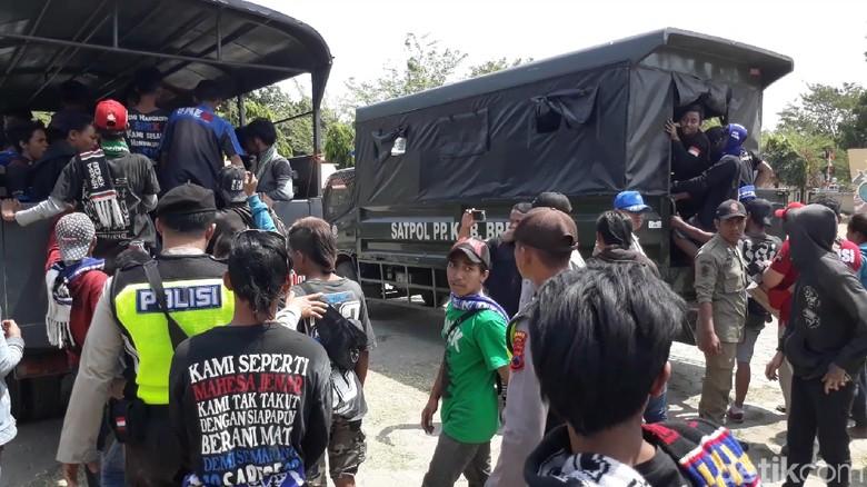 Jelang Laga Piala Indonesia di Brebes, Suporter PSIS Dipulangkan