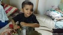 Kanker Mata, Bocah Ganteng Asal Pangandaran Ini Butuh Bantuan