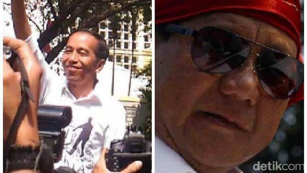 Prabowo Menang di Polling Iwan Fals, Jokowi Unggul di Faizal Assegaf