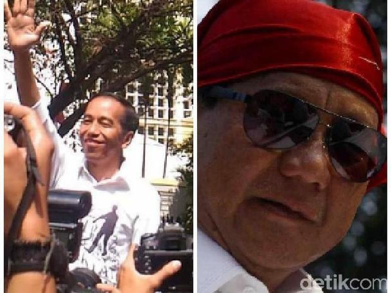 Drama Jokowi Deklarasi Cawapres dan Show Off Prabowo Daftar Pilpres