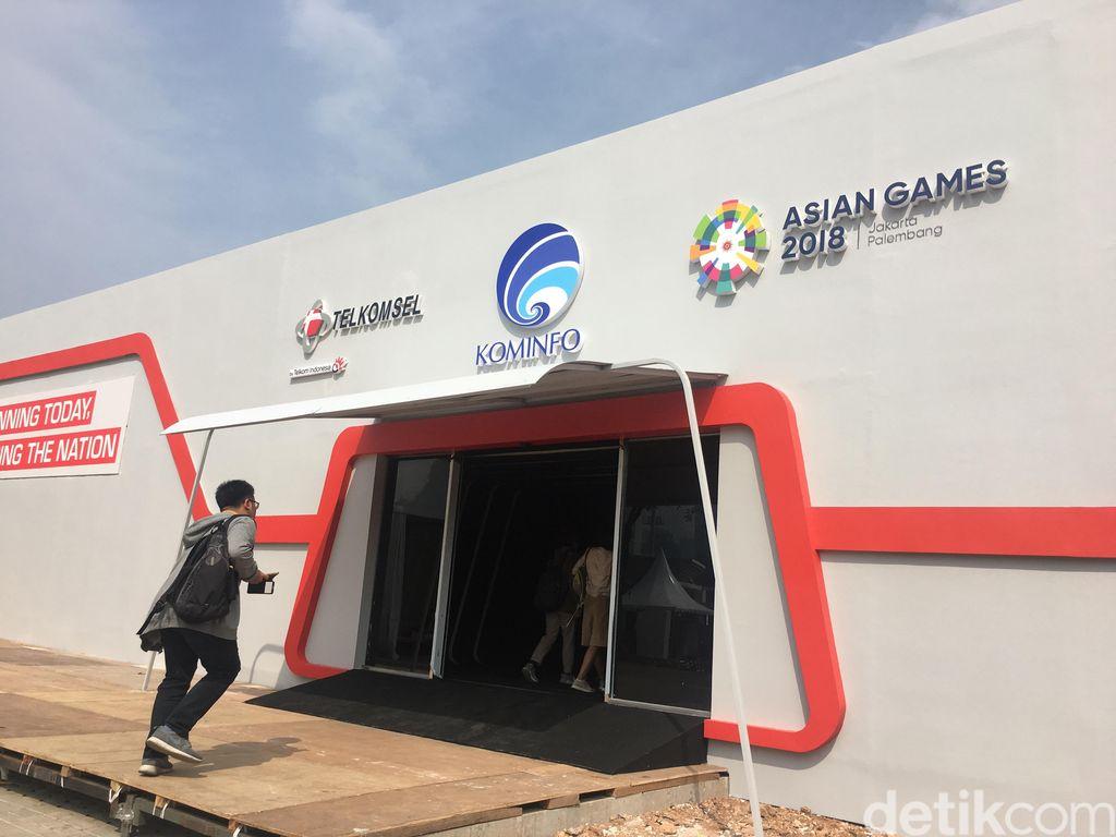 Adalah Telkomsel 5G Experience Center sebagai area untuk merasakan langsung implementasi dari teknologi revolusioner dukungan teknologi 5G. (Foto: detikINET/Agus Tri Haryanto)