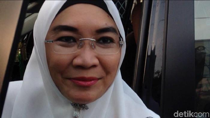 Istri Maruf Amin tetap sehat dan awet muda. Foto: Istri Maruf Amin, Wury Estu Handayani (Eva/detikcom)