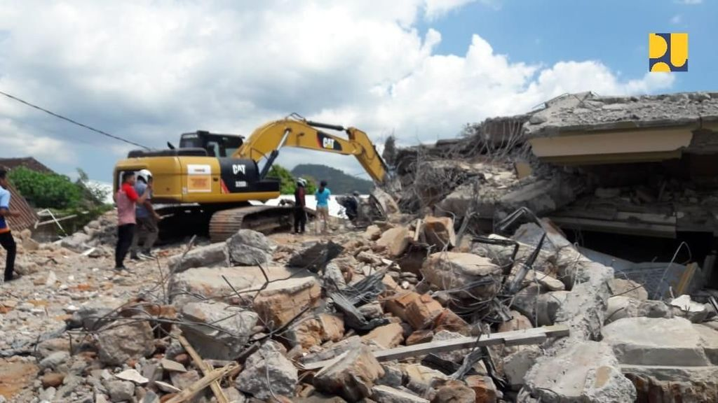 Anggaran Rp 34,9 M Sudah Cair untuk Bantuan Gempa Lombok