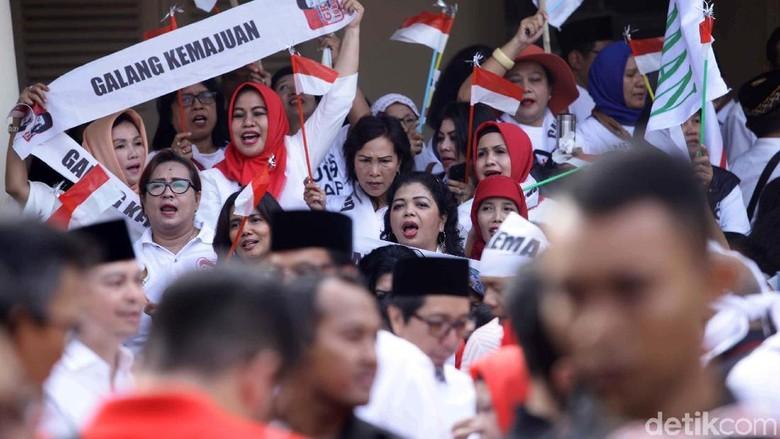 Jokowi-Maruf Amin Bakal Deklarasi, Begini Suasana di Gedung Joang