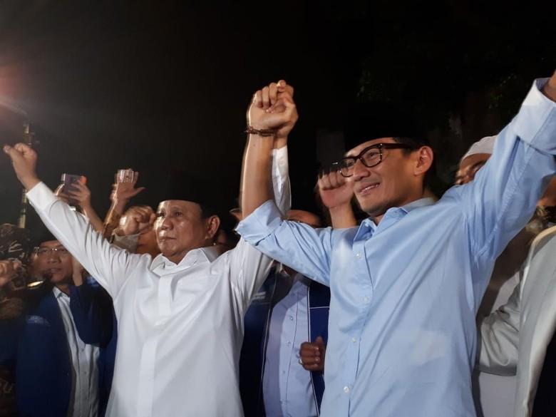 Duet dengan Sandiaga, Prabowo: Proses Ini Lelah Sekali