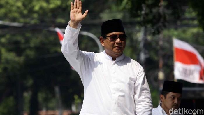 Prabowo Subianto (Pradita Utama/detikcom)