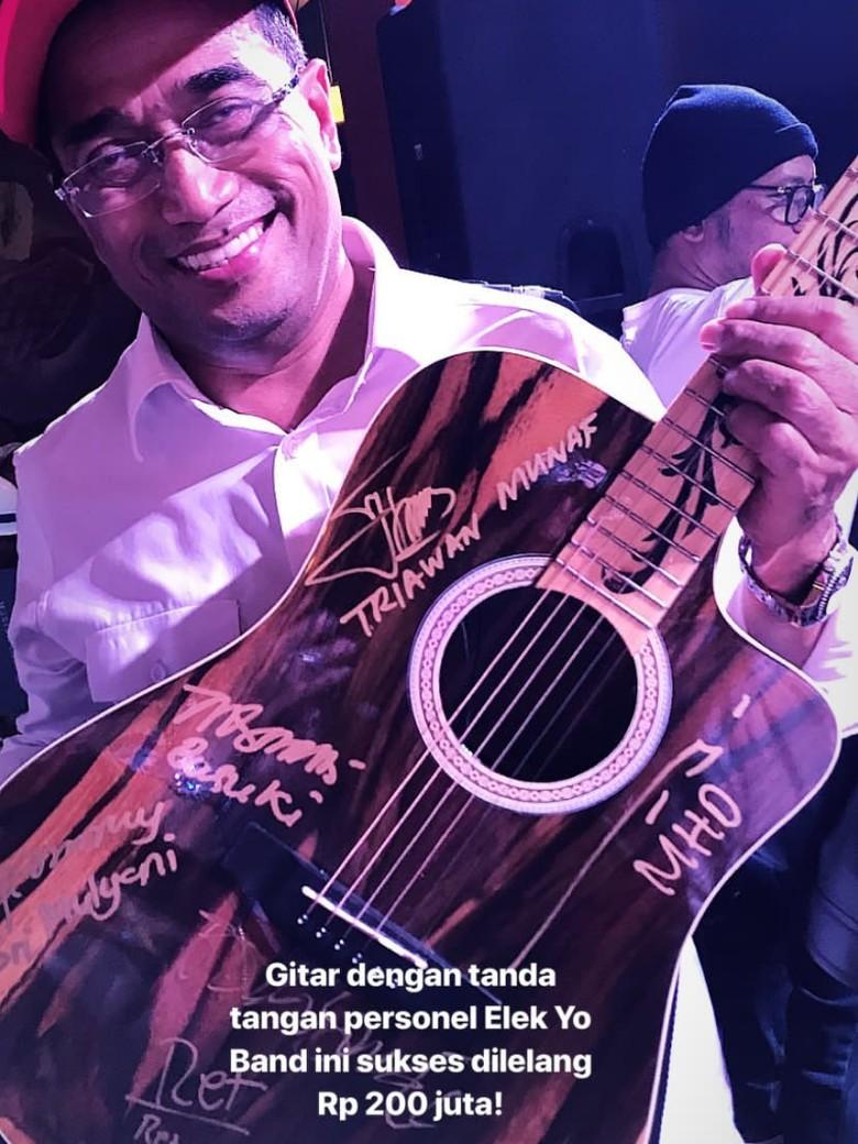 Ini Gitar Budi Karya Sumadi yang Laku Rp 200 Juta untuk Lombok