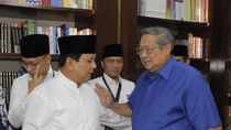 SBY-Prabowo Sempat Bertemu Pagi Tadi Bahas Strategi Pemenangan