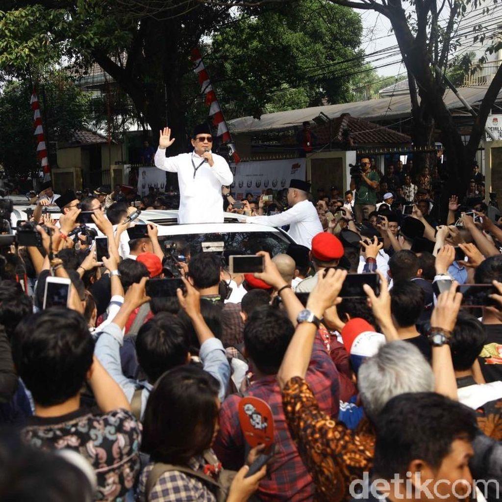 Gerindra Yakin Pendukung yang Antar Prabowo ke KPU Lebih Banyak