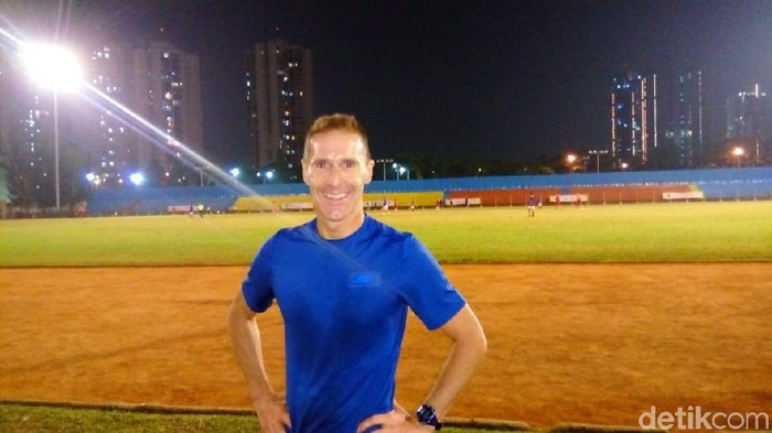Mike Trees, atlet triatlhon berusia 56 tahun (Foto: Christantio Utama/detikHealth)