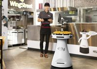 Robot Kini Jadi Pengantar Pizza