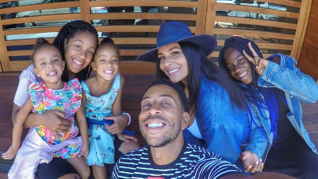 Potret Harmonis Keluarga Pemain Fast and Furious Rapper Ludacris