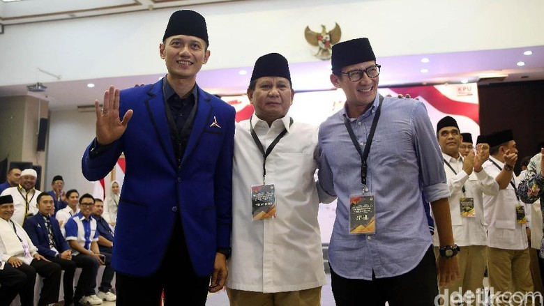AHY akan Jadi Lokomotif Pemenangan Prabowo-Sandi