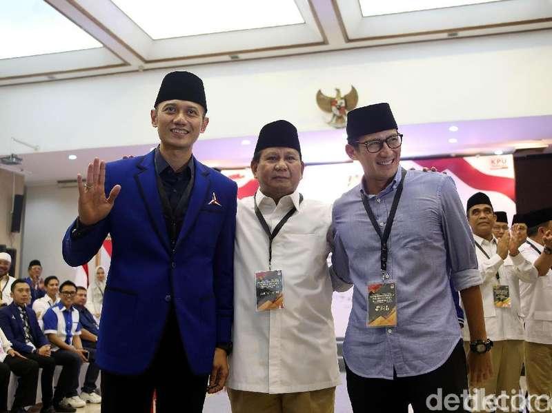 Panas Dingin Demokrat-Gerindra Bisa Untungkan Jokowi