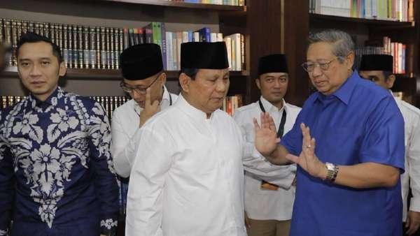 Prabowo-SBY Bakal Bertemu Bahas Demokrat Solid dan Pemenangan