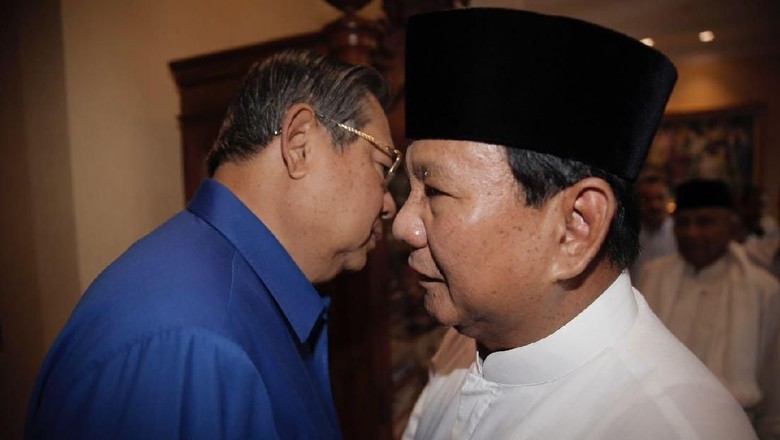 Diusung SBY, Prabowo: Saya Tersanjung dan Merasa Sangat Dihormati