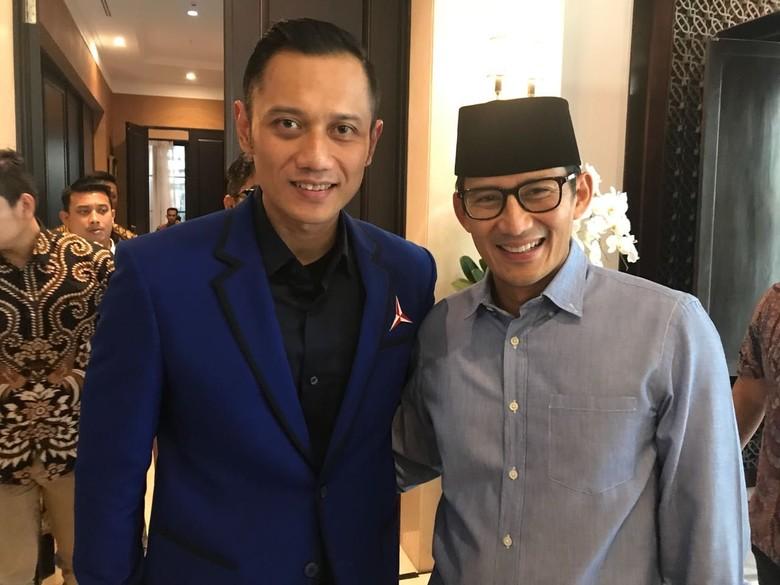 AHY Ditempatkan di Dewan Pembina Timses Prabowo-Sandi