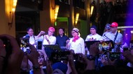 Aksi Elek Yo Band Manggung Galang Dana untuk Lombok