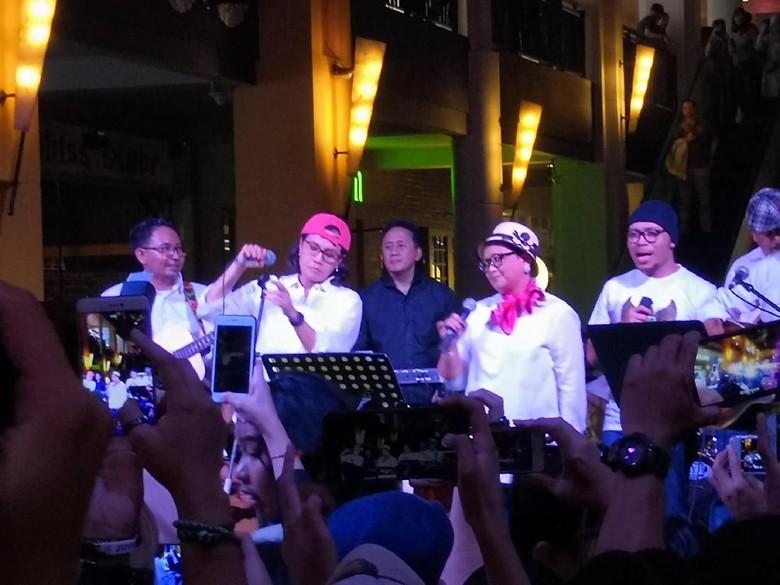 Meriahnya Penampilan Elek Yo Band dalam Konser Kemanusiaan untuk Lombok