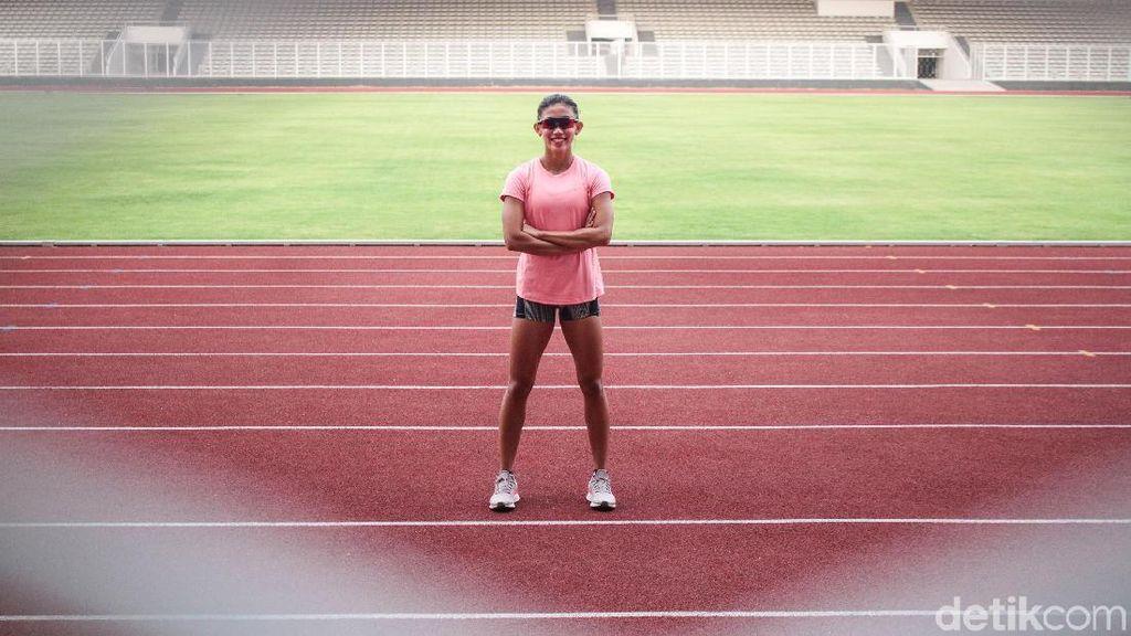 Beda Cedera Emilia Nova dan Atjong Tio di Kejuaraan Atletik Asia 2019