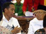 Jelang Debat Capres: Jokowi Bilang Sudah Mantul, Maruf Menambahkan