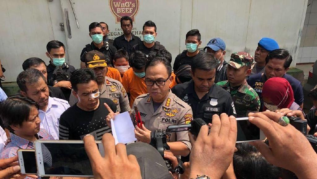 Tangkap Perampok di RPH Tangerang, Polisi Terluka Disabet Cutter
