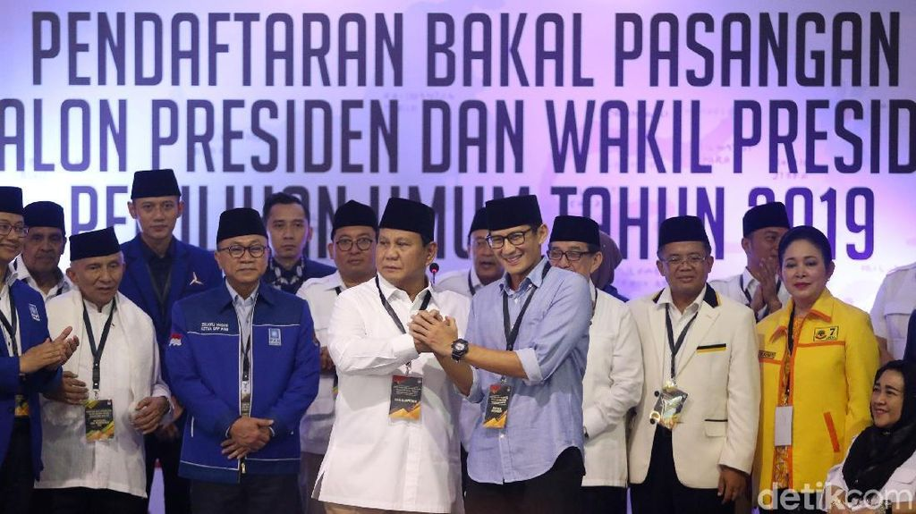 Gerindra Tandingi 100 Jubir Jokowi-Maruf: Jubir Kami Emak-emak