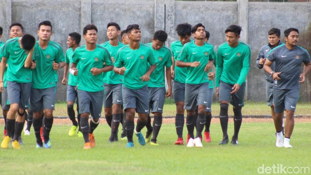 Ini Skuat Timnas Indonesia U-16 di Piala Asia