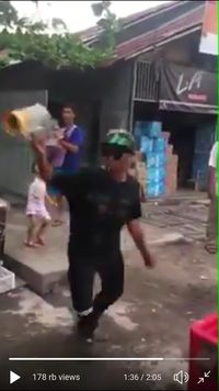 Atraksi Penjual Iced Blended Asal Pangkal Pinang Ini Viral!