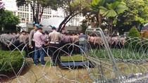 4.000 Personel Amankan KPU Jelang Pendaftaran Capres-Cawapres
